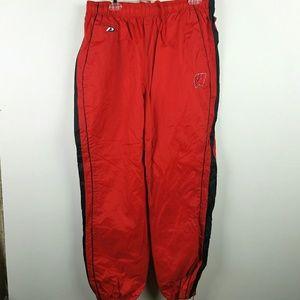 Vintage Wisconsin Track Pants Size Large
